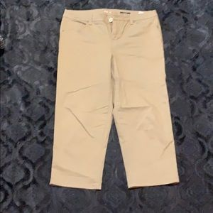 Style and co tan jeans size 12